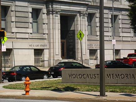 gay street holocaust memorial