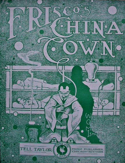 frisco china town sheet music