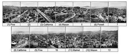 muybridge panorama of san francisco, 1877