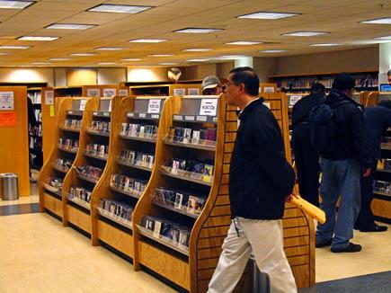 audio-visual center, san francisco library main branch