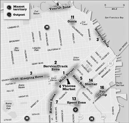 san francisco homeless map