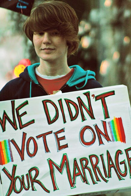 prop 8 protester