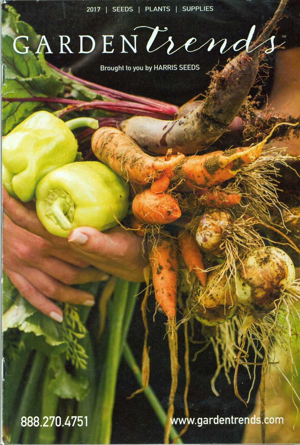 Harris Seeds: Garden Trends, New York, 7.25 x 10.25, 124 pp.
