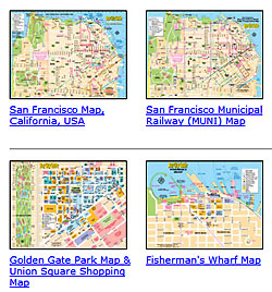 san francisco region maps