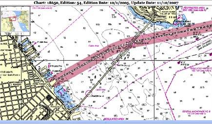noaa map of san francisco bay