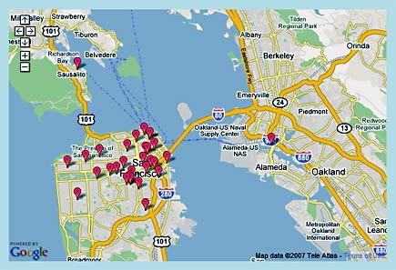 free san francisco wireless internet locations