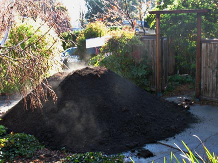 10 cubic yeards of soil