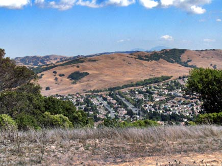 carriage hills from sobrante ridge