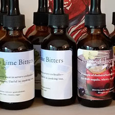 herbal bitters detail