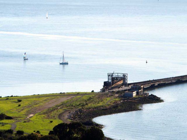Ferry Point from Nichol Knob.